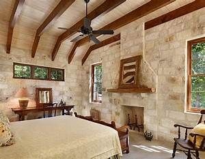 25 bedrooms that celebrate the textural brilliance of With interior rock wall design ideas