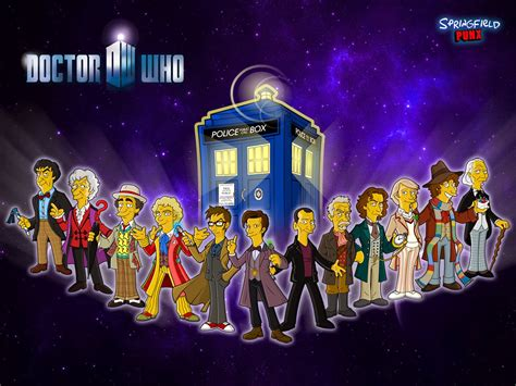 Doctor Who Animated Wallpaper - springfield punx new doctor who wallpaper