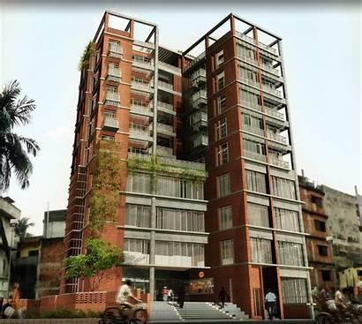 Building Commercial Apartment Cum Bd Exterior Jaarchitects