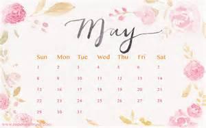 Free Desktop Wallpaper Calendar May 2017