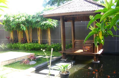 kolam minimalis taman minimalis love green
