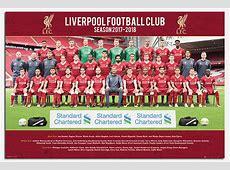 Liverpool FC Team Photo 2017 2018 Season Poster New