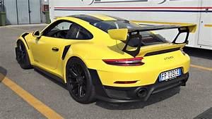 Porsche 991 Gt2 Rs Weissach Package - Start Up  Revs  Launch Control  U0026 Exhaust Sounds