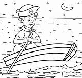 Coloring Boat Pages Boats Fishing Rowboat Speed Printable Ship Cargo Cool2bkids Getcolorings Template sketch template