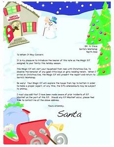 1000 images about santa letters on pinterest free santa With magic santa letter
