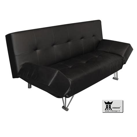 Divano Letto Ecopelle - divano letto click clack in ecopelle della linea rr design