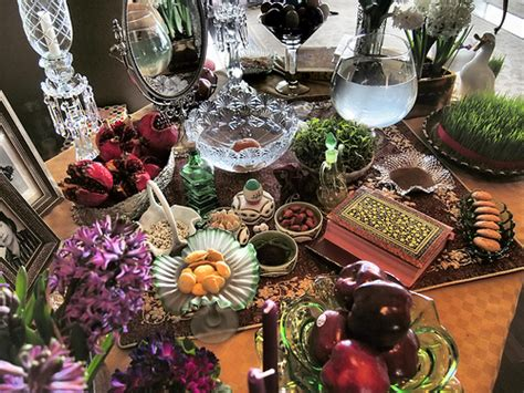 Persian Table Decorations