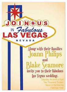 Wedding invitations viva las vegas at mintedcom for Wedding invitations las vegas nv