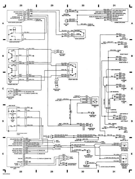 Automotive Wiring Diagram Isuzu For
