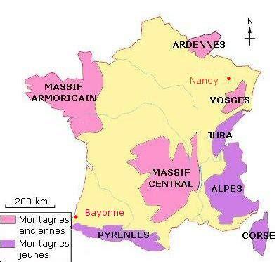 Carte De Montagne Ce1 by Cours De Histoire G 233 Ographie Ce2 Les Paysages De