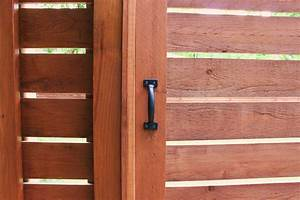 Modern Horizontal Fence The Cavender Diary New Gate Handle