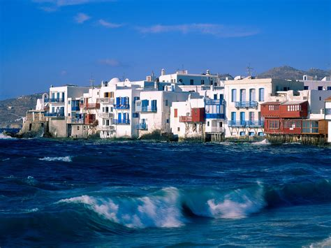 Mykonos Greece Nature Of The World