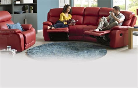 Sectional Sofa On Sale by Daytona 4 Seater Curved Manual Double Recliner Peru Dfs