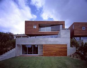 Convertible Adjacent Houses with Wood Clad Top by ...