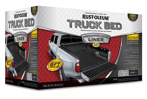rust oleum professional grade low voc truck bed liner kits