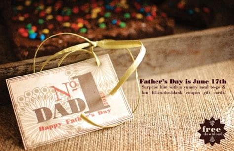 printable fathers day fill   blank coupons
