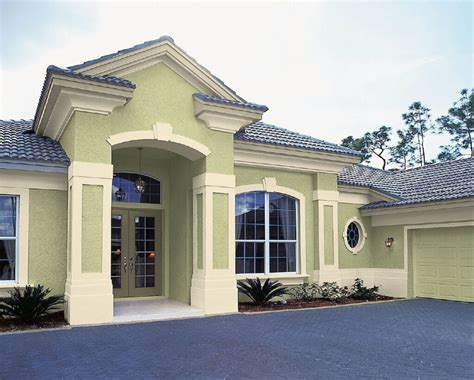 modern exterior house paint colors minimalist green wall decor home exterior design decorating