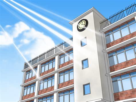 anime school background opengameartorg