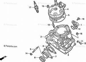 Honda Motorcycle 1998 Oem Parts Diagram For Cylinder