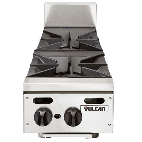 propane countertop stoves vulcan vhp212 liquid propane 12 quot 2 burner countertop range