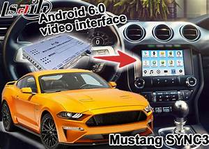 Ford Mustang SYNC 3 Android GPS navigation box WIFI BT Google apps video interface