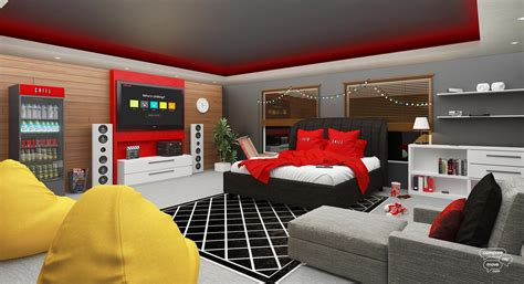 Bedroom Apple Tv by 6 Bedrooms Inspired By Tech Giants Webdesigner Depot