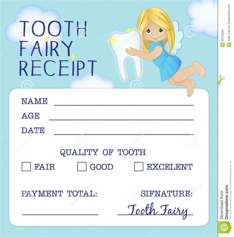 fairy door templates tooth fairy letter freebie