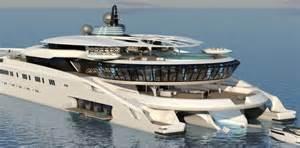 yacht designer stunning 135 metre trimaran superyacht concept tar yacht charter