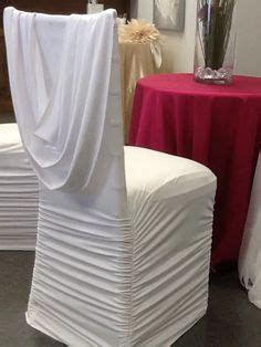 1000 ideas about white chair covers on black