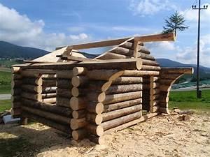 Wärmepumpe Selber Bauen : naturstammhaus bauen erlernen mit dem blockhauskurs ~ Lizthompson.info Haus und Dekorationen
