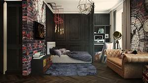 2 industrial apartment interior design that will inspiring for Interior design styles for small apartment