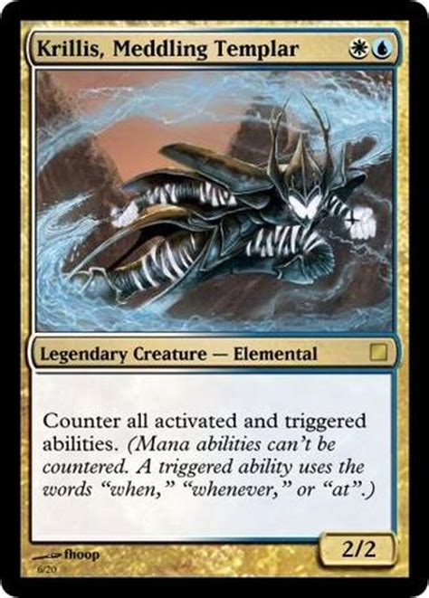 magic the gathering prossh commander deck legendary creatures made for commander custom card