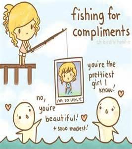 Fishing for Compliments On Facebook