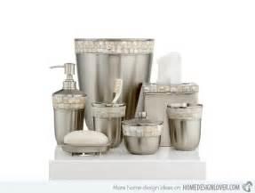 designer bathroom sets 15 trendy modern bathroom accessories set home design lover