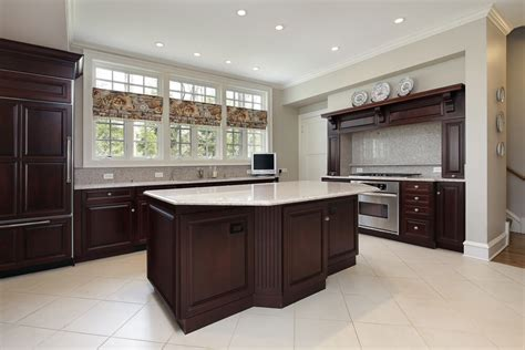 espresso kitchen cabinets with light floors kitchen cabinets with light floors home design ideas