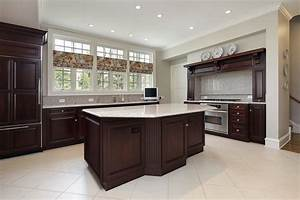 kitchens with dark cabinets and tile floors kitchen tile With kitchen cabinet trends 2018 combined with metal wall art cheap