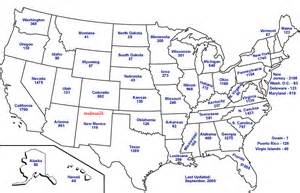 Us State Map with Capitals Printable