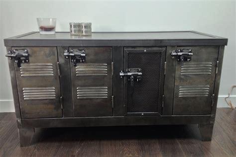 meuble de cuisine industriel meubles de rangement industriel métal bois