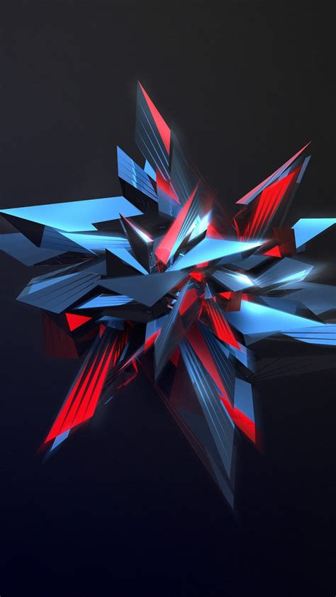 3d Abstract Wallpaper by Wallpaper 3d Abstract Shapes Glass 4k Abstract 17746