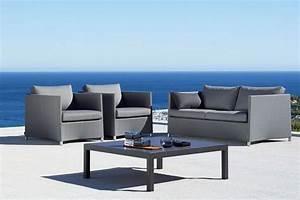 Coussin Canape Exterieur : des meubles design magnifiques pour votre salon en plain air ~ Teatrodelosmanantiales.com Idées de Décoration