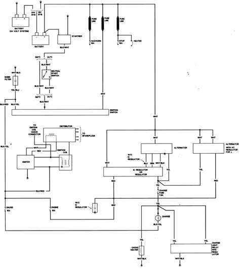 1984 Toyotum Diesel Wiring Diagram by Charging 1983 Toyota 22r Pu 4x4 Freeautomechanic Advice