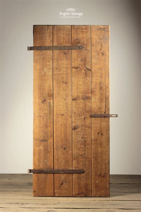 reclaimed pine  vertical plank door