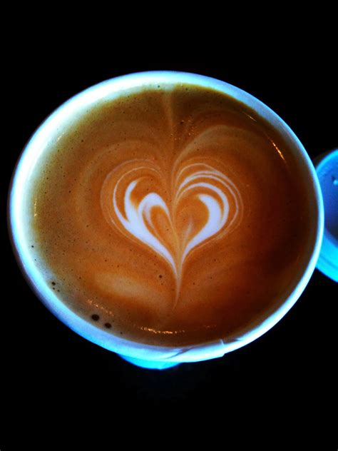 And when that morning latte comes with a pretty, little heart in the foam? Latte Heart   Latte art from BeanTowne Coffee House   Cole Morgan   Flickr