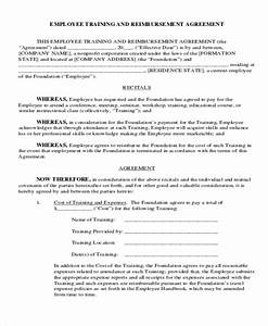 12 training contract templates free premium templates With apprenticeship contract template