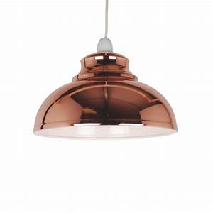 Chandelier lighting dunelm : Copper is the key trend kitchen think