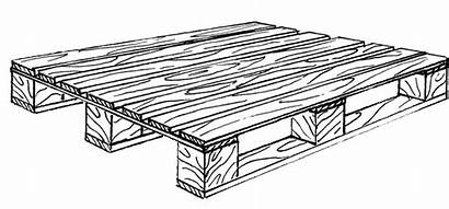 Pallet Wooden Drawing Pallets Wood Different Types