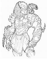 Predator Coloring Alien Pages Vs Deviantart Gold Ronniesolano Drawing Printable Colouring Movie Drawings Boys Adult Avp Xenomorph Yautja Aliens Preditor sketch template