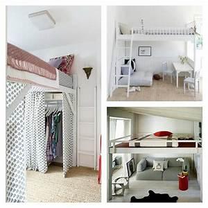 Lit Petit Espace : lit mezzanine adulte et am nagement de petits espaces ~ Premium-room.com Idées de Décoration