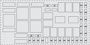Fiat Grande Punto  2006 - 2012  - Fuse Box Diagram