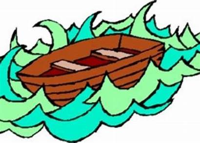Lifeboat Into Stepping Clipart